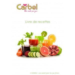 Livre de recette Carbel